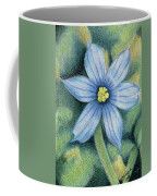 Blue Eyed Grass - 1 Coffee Mug