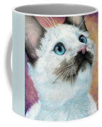 Blue Eyed Prayer Coffee Mug