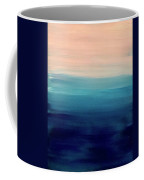 Blue Fade Coffee Mug