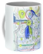 Blue February Coffee Mug