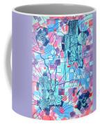 Blue Field Connections Coffee Mug