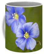 Blue Flax #2 Coffee Mug