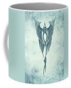 Blue Flight Contemporary Minimalism Coffee Mug