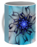 Blue Floral 083010 Coffee Mug