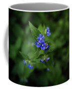 Blue Flower In Spring Coffee Mug