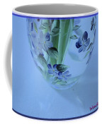 Blue Flower Vase Coffee Mug