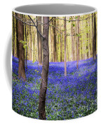 Blue Forest In Shadow Coffee Mug