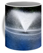 Blue Fountain Coffee Mug