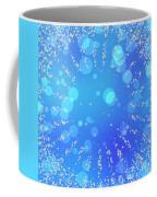 Blue Frozen Window Coffee Mug