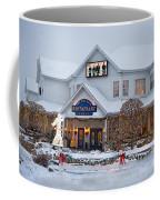 Blue Gate Restaurant Shipshewana In Winter Coffee Mug