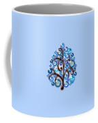 Blue Glass Ornaments Coffee Mug