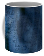 Blue Glimpse Coffee Mug