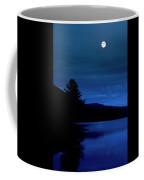 Blue Glow Coffee Mug