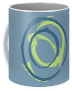 Blue Green 1 Coffee Mug