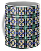 Blue Green Lisbon Tiles Souvenirs Coffee Mug