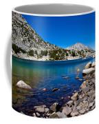 Blue Green Treasure Lake Coffee Mug
