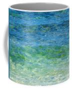 Blue Green Waves Coffee Mug