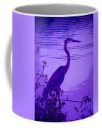 Blue Heron... Coffee Mug