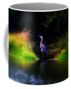 Blue Heron Coffee Mug