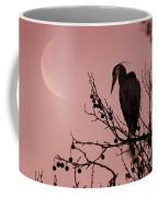 The Heron And The Moon Coffee Mug