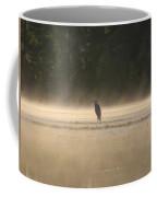 Blue Heron Morning Coffee Mug