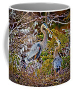 Blue Herons Coffee Mug