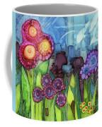 Blue Hoo Hoo Skies Coffee Mug