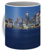 Blue Hour In Detroit Coffee Mug