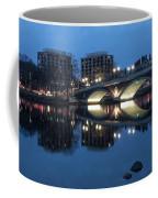 Blue Hour On The Charles Coffee Mug
