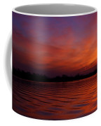 Blue Hour On The Neches  Coffee Mug