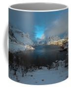 Blue Hour Over Reine Coffee Mug