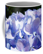 Blue Hydrangea Flowers Art Prints Baslee Troutman Coffee Mug