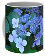 Blue Hydrangea Flowers Floral Art Baslee Troutman Coffee Mug