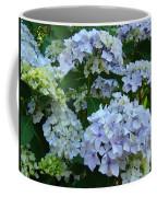 Blue Hydrangeas Art Prints Hydrangea Flowers Giclee Baslee Troutman Coffee Mug