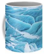 Blue Ice Svinafellsjokull Glacier Iceland Coffee Mug