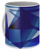 Blue In Blue Coffee Mug