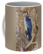 Blue In The Moss Coffee Mug