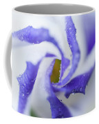 Blue Inspiration. Lisianthus Flower Macro Coffee Mug