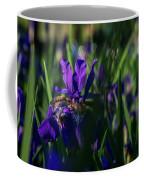 Blue Iris Field  Coffee Mug