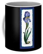 Blue Iris Coffee Mug
