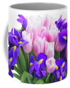 Blue And Pink Coffee Mug