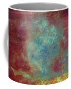 Blue Iron Texture Painting Coffee Mug