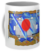 Blue Kimono Coffee Mug