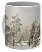 Blue Knob Winter Coffee Mug