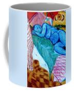 Blue Lady Coffee Mug