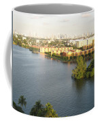 Blue Lagoon Miami Coffee Mug