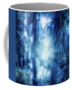 Blue Lights Coffee Mug