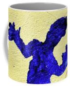 Blue Lizard Coffee Mug
