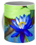 Blue Lotus Flower Coffee Mug