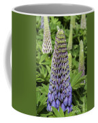 Blue Lupin Coffee Mug